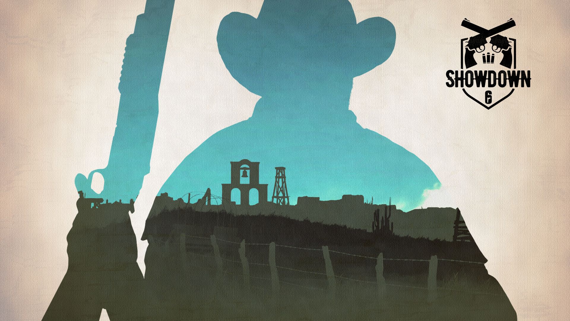 Play cowboys in Rainbow Six Siege's Showdown mode