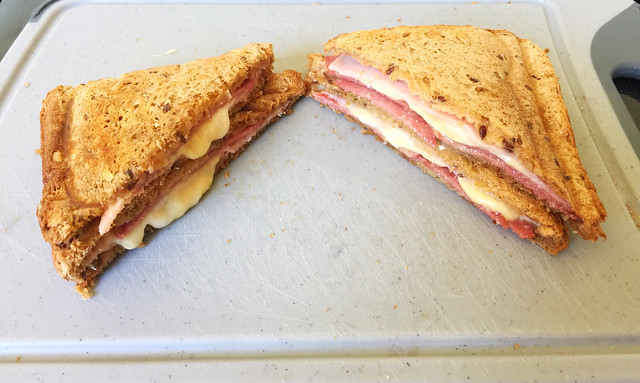 Ham Salami Cheese Sandwich