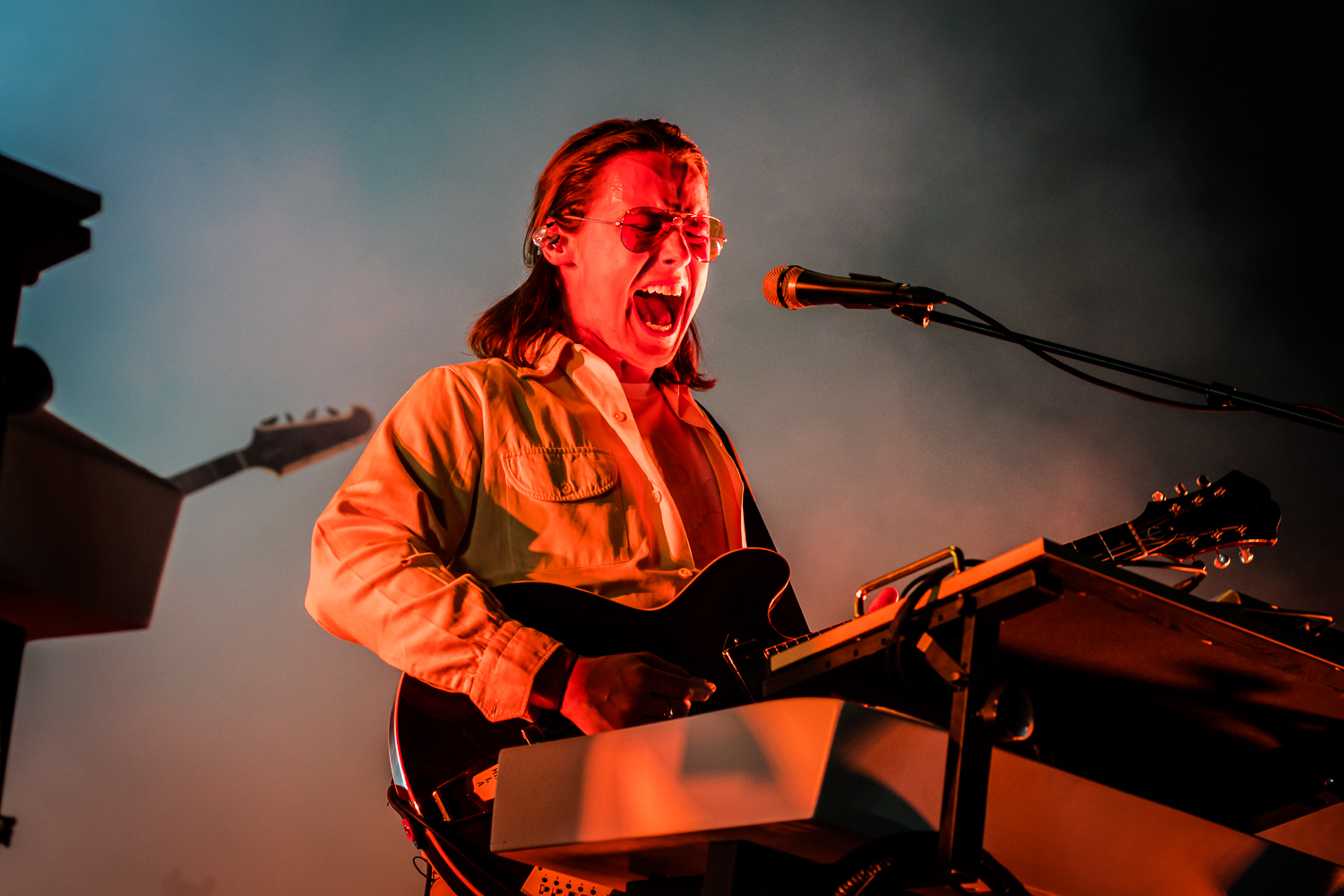 Jungle @ Rock Werchter 2019 (© Timmy Haubrechts)