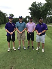 TPC Deere Run Silvis, IL  L-r: Brodie Dakin, Matt Lawver, Kyle Johnson and Spencer Conlin