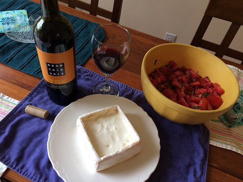 Super Tuscan and Cottonbell cheese, paired with italian tomatoes