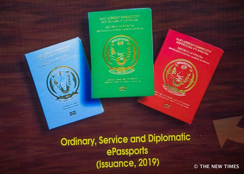 Rwanda's (EAC) e-Passport launch | June 28, 2019