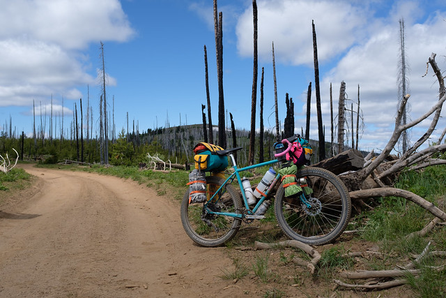My Bike at the Summit