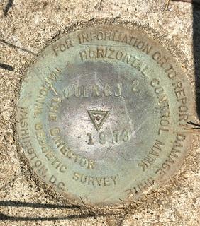 USGS Horizontal Control Mark Quincy 2 1973 Quincy FL