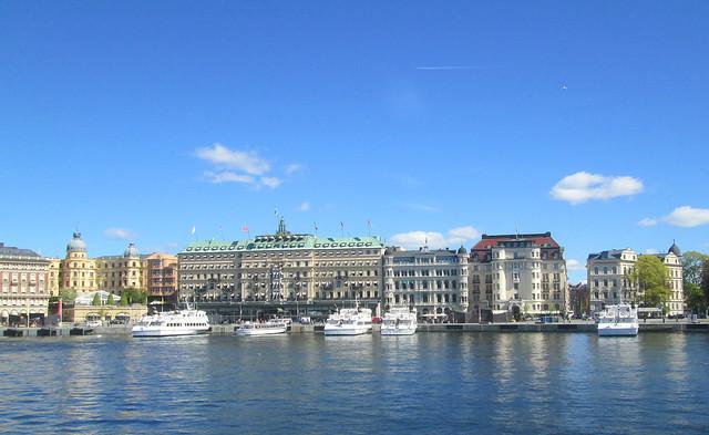 Stockholm waterfront, Sweden