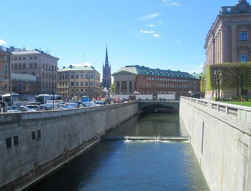 Stockholm,Canal + weir