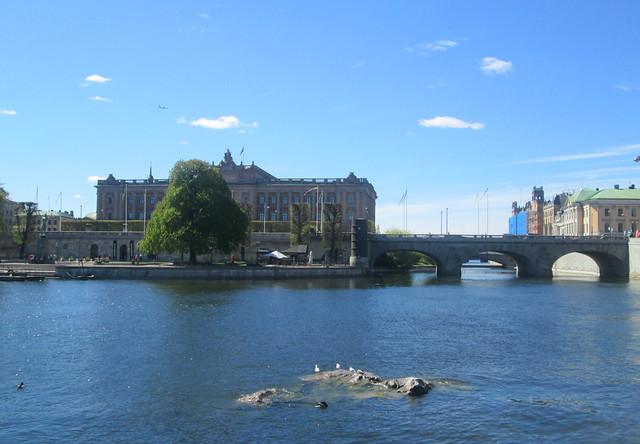 Rocks , Birds, Riksdag, Stockholm