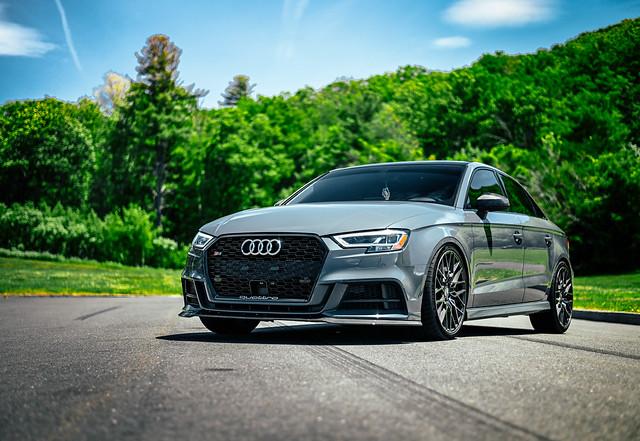 Audi S3 - XO Luxury Phoenix - Brushed Gunmetal rotary forged wheels rims - 11