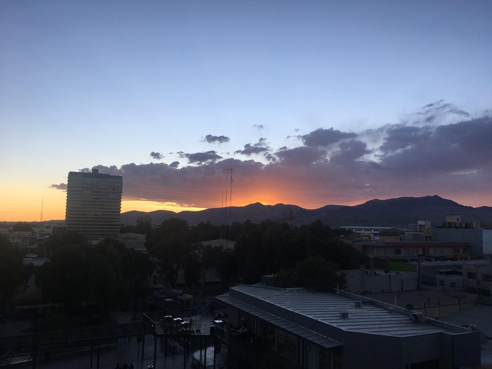 Sunset in Calama