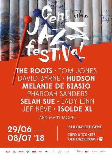 Gent Jazz Festival cartel 2018