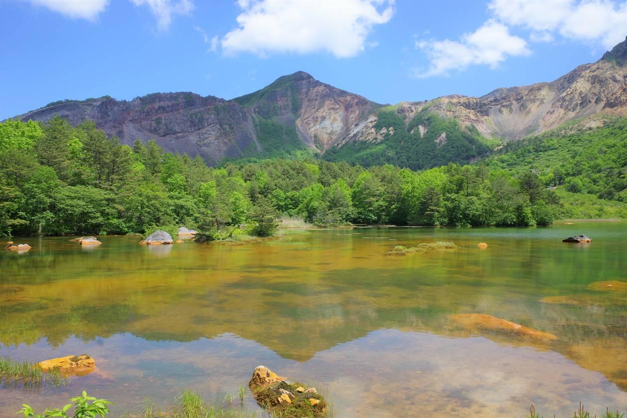 銅沼からの櫛ヶ峰