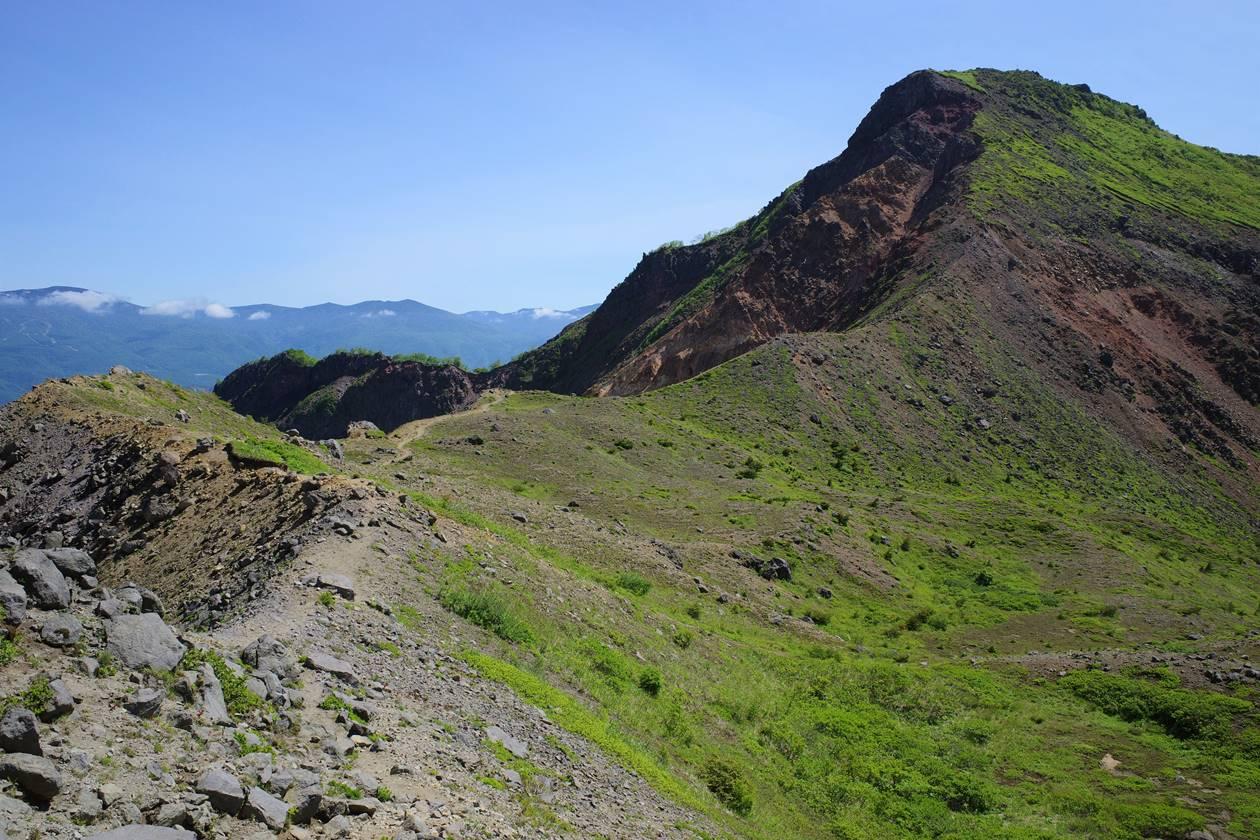 磐梯山・櫛ヶ峰へ