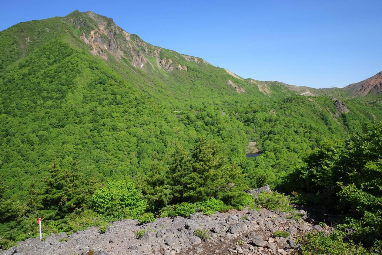 赤埴山から磐梯山へ