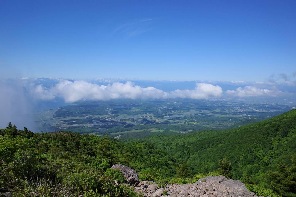 赤埴山からの雲海