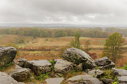 gettysburg pennsylvania us national military park landscape outdoor historical devils den