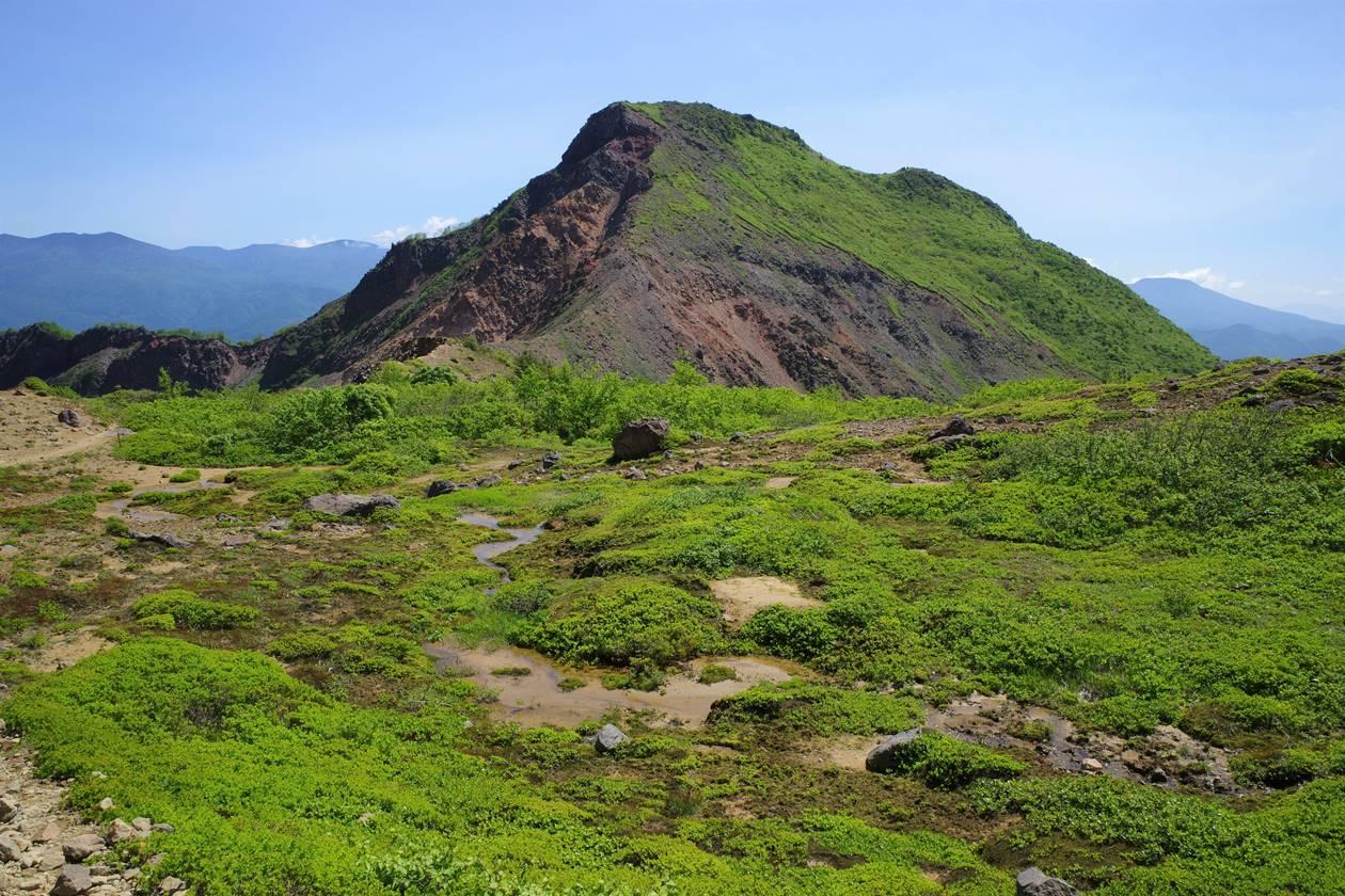 磐梯山のお花畑湿原と櫛ヶ峰