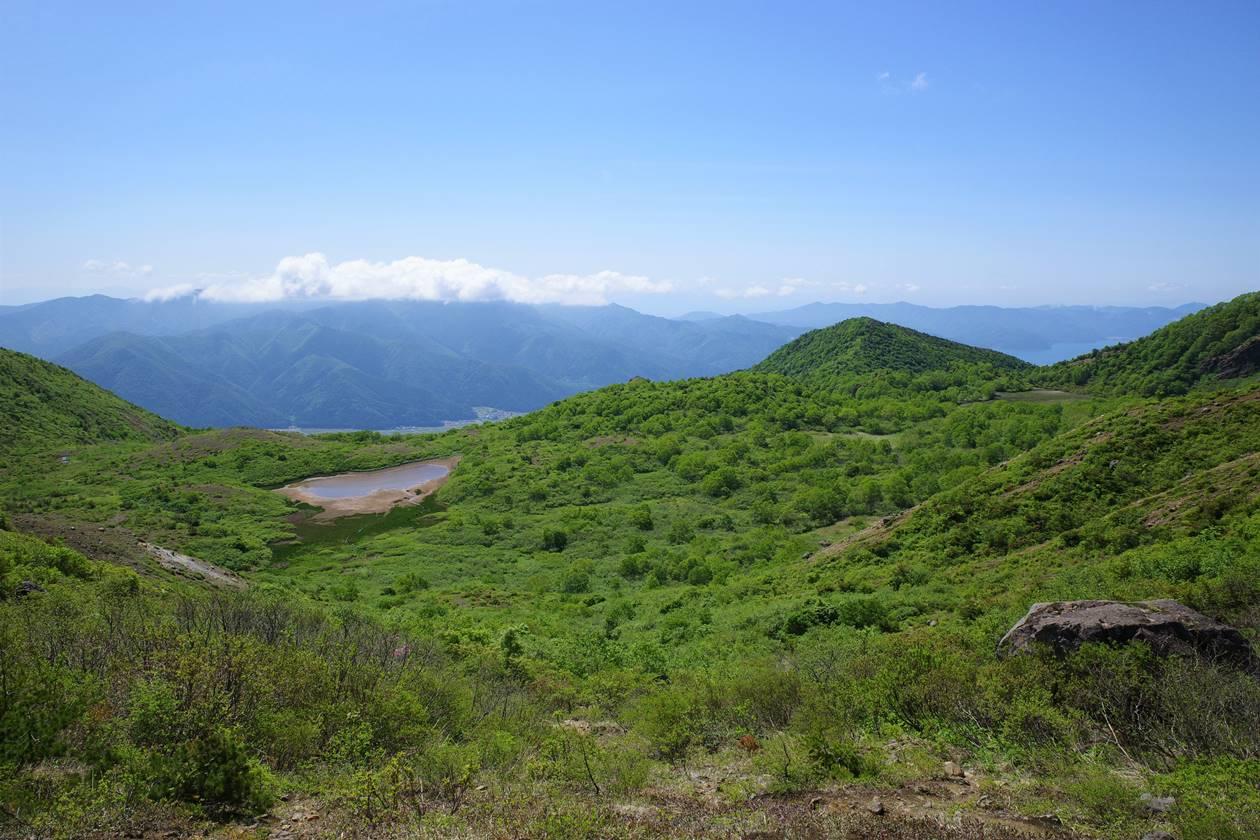 磐梯山 沼ノ平の湿原