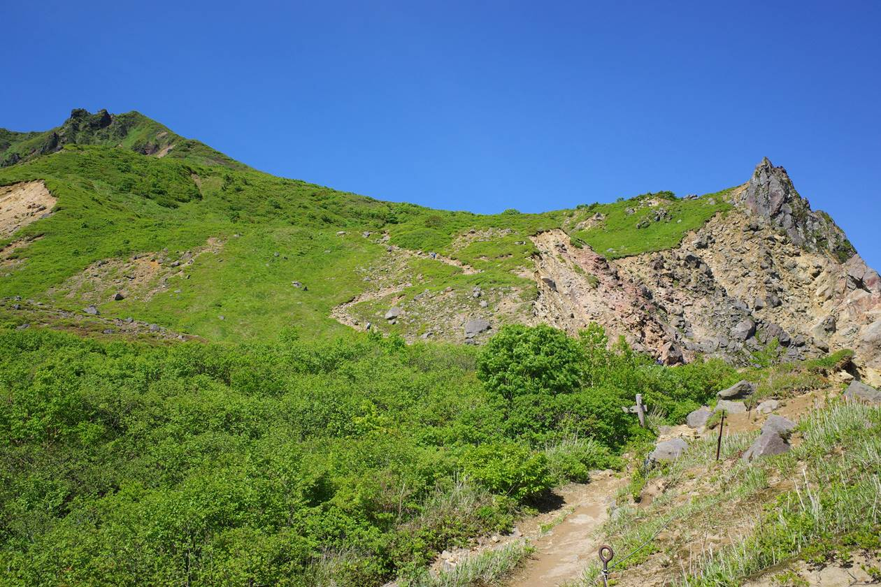 6月の磐梯山登山