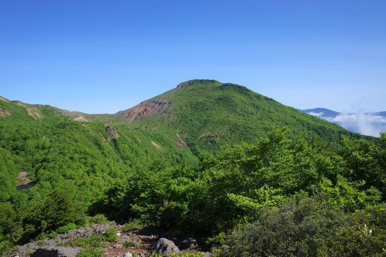 赤埴山から眺める櫛ヶ峰