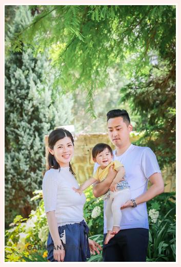 公園で家族写真のロケーションフォト フラリエ 名古屋市 人気・オススメ!