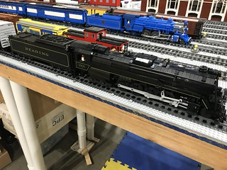 Reading T-1 Steam Locomotive Kit Update | Brick Model Railroader