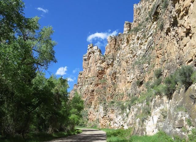 Winding Through Sheep Canyon