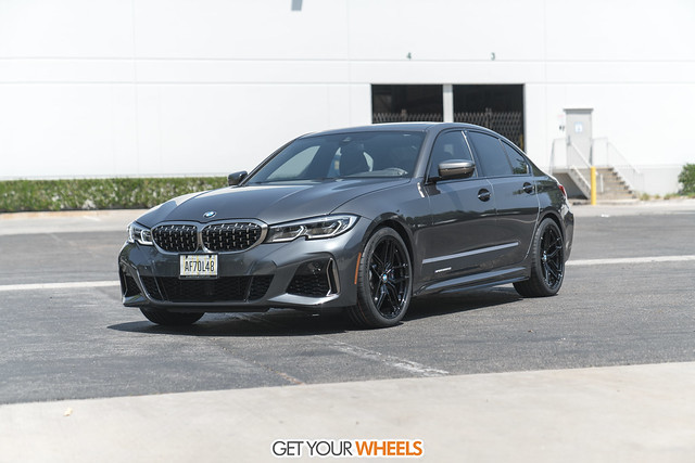 BMW M540i - Stance SF03 Gloss Black