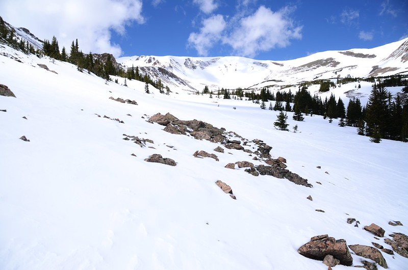Snowy peaks at butler gulch in spring (29)