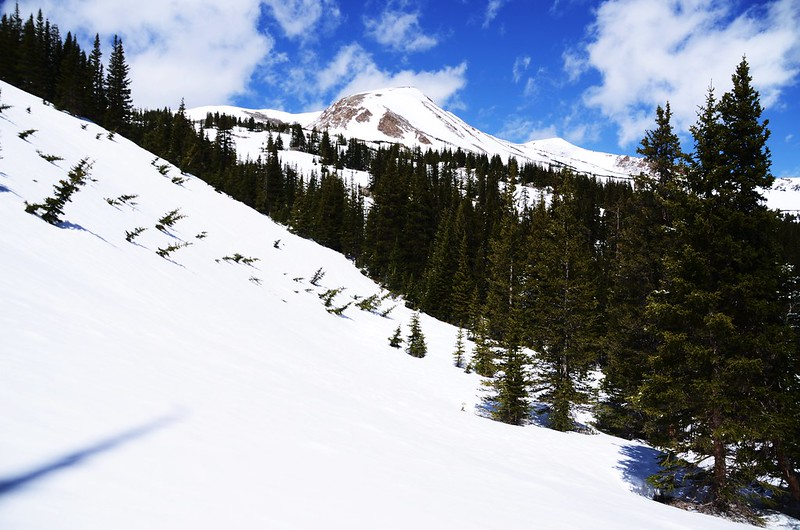 Snowy peaks at butler gulch in spring (16)