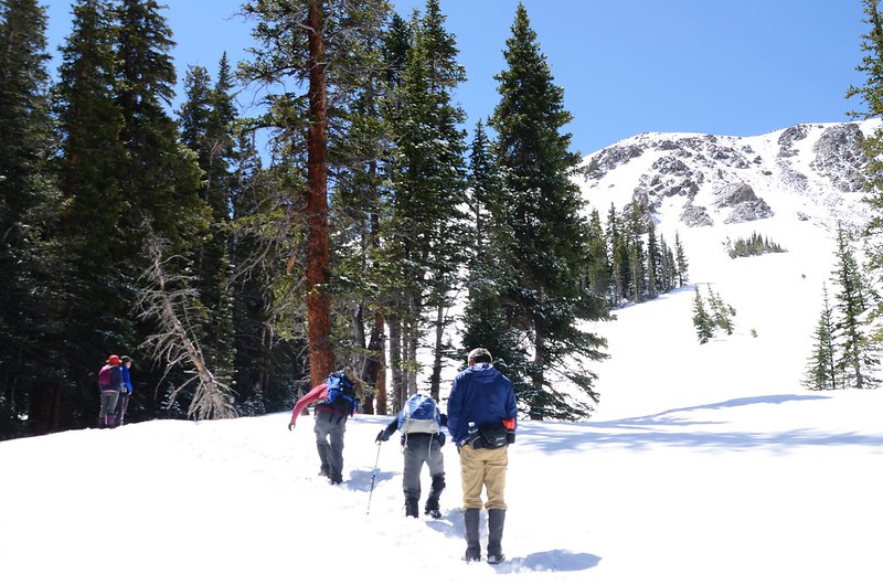 Snowy peaks at butler gulch in spring (13)