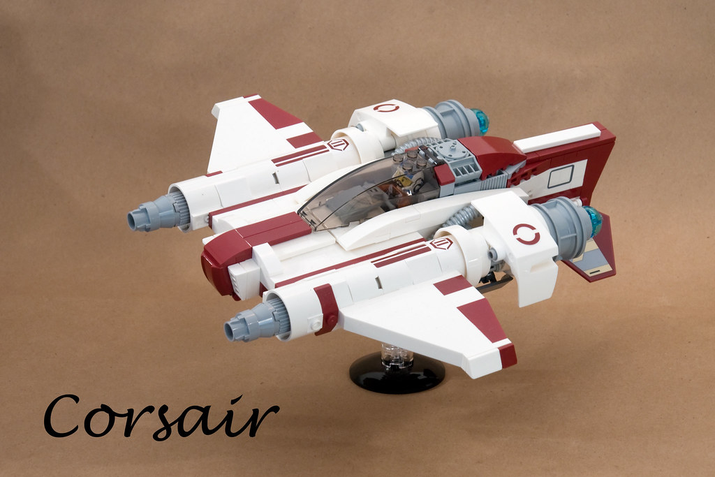 Corsair (custom built Lego model)
