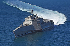 USS Montgomery (LCS 8) file photo. (U.S. Navy/Muclkey Photography)