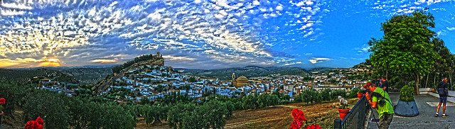 Montefrio (Granada, Andalucia, Spain) from the National Geographic viewpoint