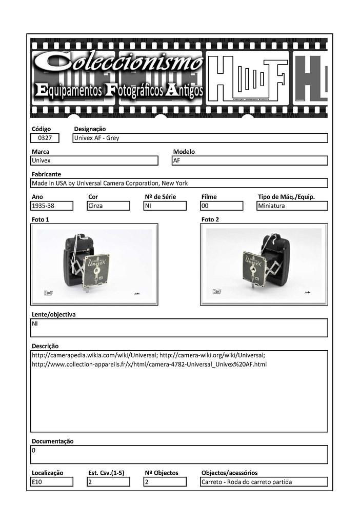 Inventariação da colecção_0327 Univex AF - Grey