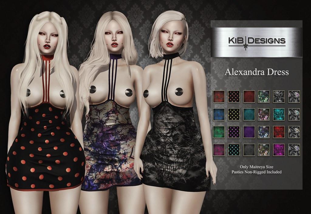 KiB Designs - Alexandra Dress @Suicide Dollz - TeleportHub.com Live!