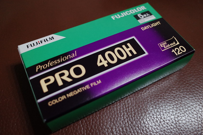 FUJIFILM PRO 400H 120フィルムパッケージ