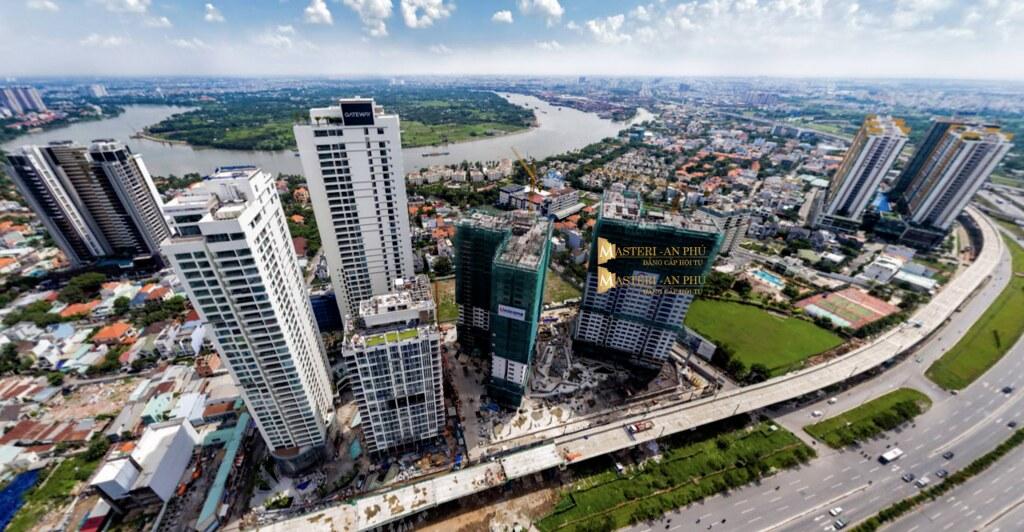 mặt tiền xa lộ Hà Nội