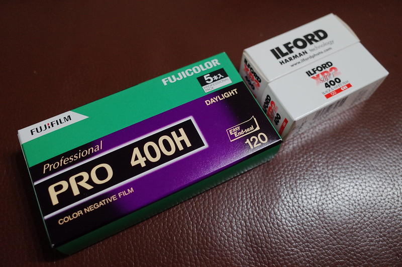 FUJIFILM PRO 400H ILFORD XP2 400