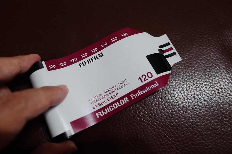 FUJIFILM PRO 400H 120フィルム