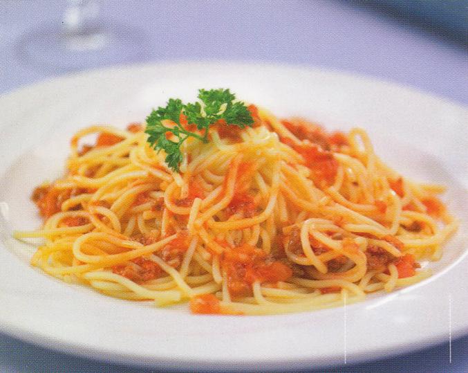 Spaghettis Bolonyesa