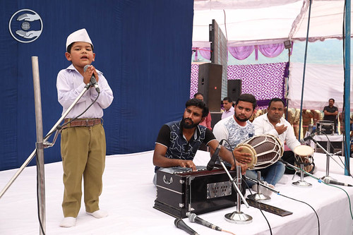 Child devotee expresses his views