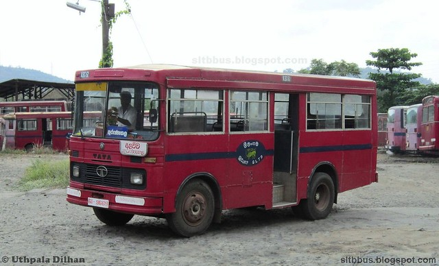 Latec TATA LP 909/36 bus from SLTB Kurunegala south depot