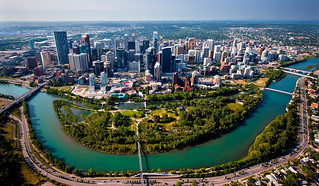 Calgary aerial pan from N.jpg | by vbolinius