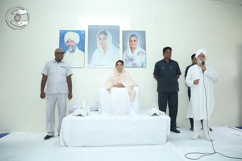 SNM Zonal Incharge, Harbhajan Singh from Mussoorie