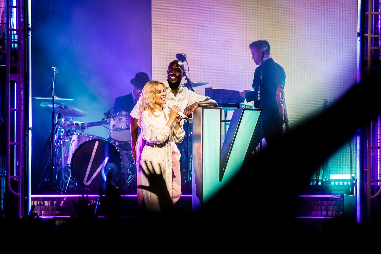 Kylie @ Rock Werchter 2019 (© Timmy Haubrechts)
