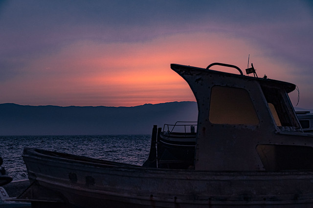 Get dark in the Cape of cats....., Atardeciendo en el Cabo de gatas......