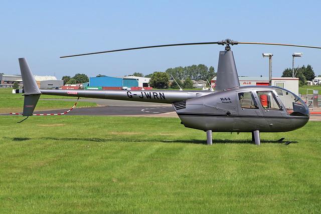 G-JWRN  -  Robinson R44 Raven II  -  Private  -  GLO/EGBJ 27-6-19