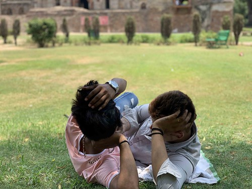 City Moment - Two Friends, Lodhi Gardens
