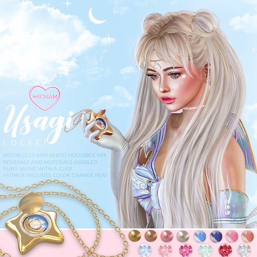 Usagi Locket @ The Crystal Heart