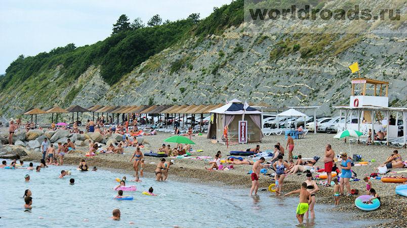 Прохоровский пляж Архипо-Осиповка